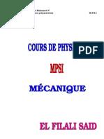 MECANIQUE MPSI