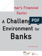 Myanmar's Financial  Sector A Challenging  Environment  for  Banks((3 rd  Edition, 2016)