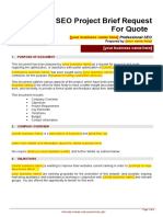 _Outsource Request for Quote Project Brief