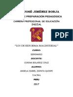 Reforma Magisterial - 2017