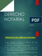 Derecho Notarial Diapositivas I UNIDAD