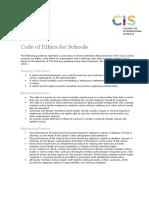 Code of Ethics for Schools (1)