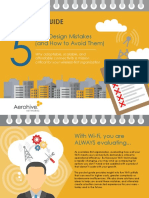 Aerohive Pocket Guide Wi Fi Design Mistakes