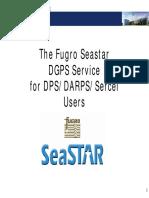 5c. Fugro Seastar Description