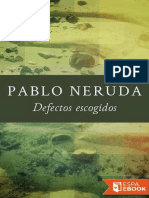 Pablo Neruda-Defectos Escogidos