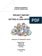 Getting a Loan Approval