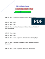 CJS 211 MENTOR Education Specialist / cjs211mentor.com