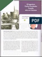 El ingeniero Fernández Casado, obra en Llaranes