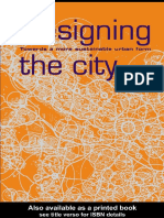 Designing the City Toward More Sustainable Urban Form by Hildebrand