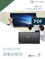 Specktron UDX 65-Spec Sheet