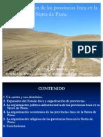 Organización de provincias Inca
