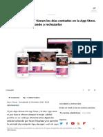 Las _apps Plantilla_ Tienen Los Días Contados en La App Store, Apple Está Comenzando a Rechazarlas