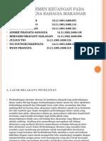 Audit Manajemen Keuangan Pada Pt