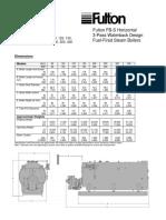 Especificaciones Del Quemador Caldera (Fulton)