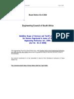 040402 Guideline Tariff of Fees