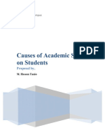 47359678 Causes of Academic Stress on Students by Hassan
