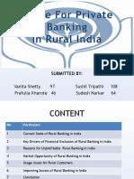 Rural Banking