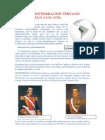 La Confederacion Peruano Boliviana