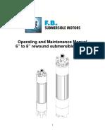 F.B. Submersible Motors 1