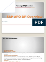 Sap Apo Dp Overview