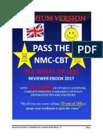 NMC CBT 2017