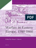 (History of Warfare 72) Brian J. Davies-Warfare in Eastern Europe, 1500-1800-Brill Academic Pub (2012)