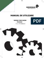 Manual Utilizare Masina Tuns Iarba Grunmann