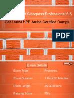 HPE6-A15 Braindumps