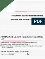 7a Besaran Dan Ukuran Kerja Transmisi