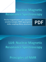 LU4 Nuclear Magnetic Resonance I