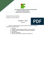Rosilda Martins de Sales - ATIVIDADE 1