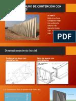 Diseño de Un Muro de Contención Con Contrafuertes