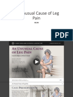 An Unusual Cause of Leg Pain