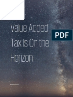 SA-Value Added Tax is on the Horizon