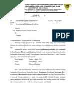 Surat Permohonan Ke Citraland k3 & UU Pertambangan