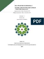 Cover Biokimia Isolasi Bekteri Amilolitik