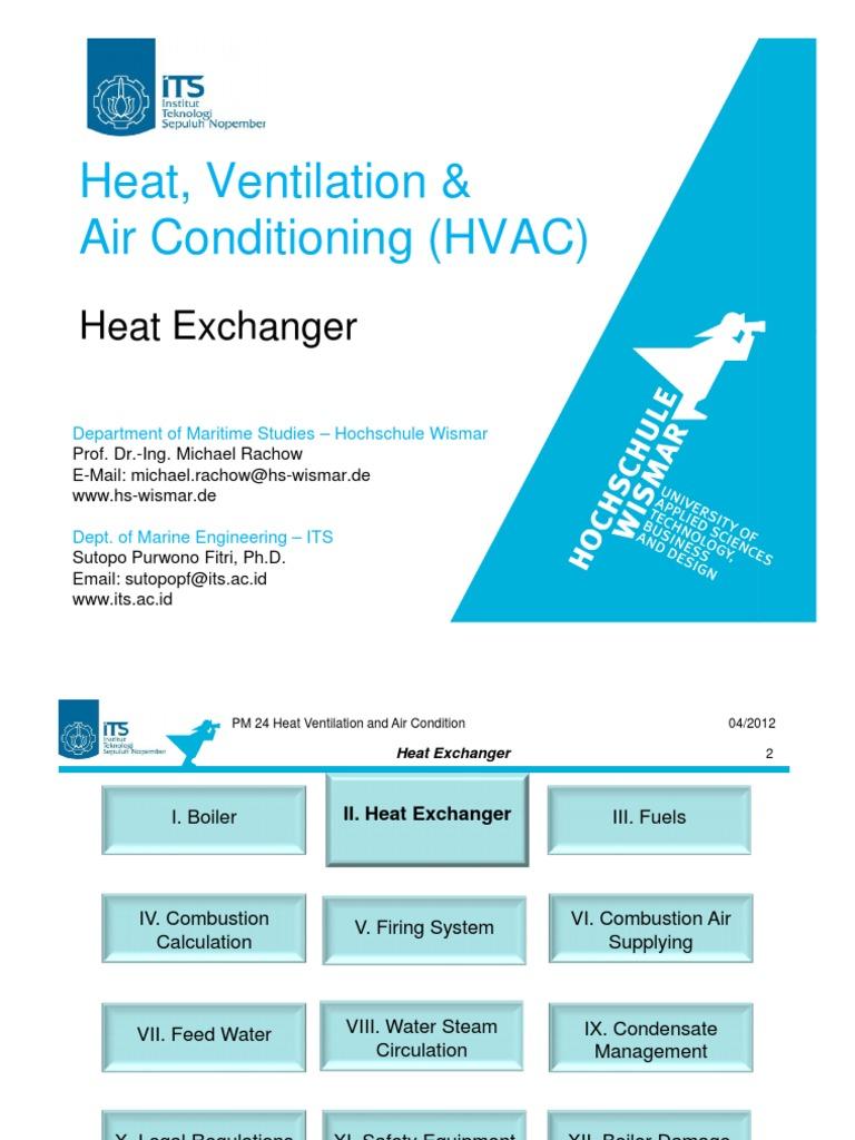 HVAC 02 Heat Exchanger   Heat Exchanger   Heat Transfer