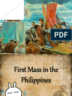 First Mass in the Phil.