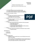 collaborative strategic reading lesson plan final