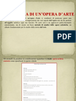 Lettura Di Un'Opera d'Arte