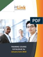 AuditLink Course Catalog - Jan to June 2018