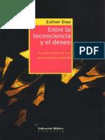 Díaz.entre Tecnociencia y Deseo.introducción