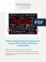 Why Competency Frameworks Have Little Effect Without Leadership