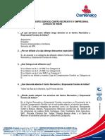 Preguntas Frecuentes Hotel Corales - V1