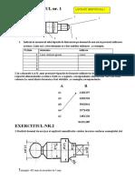 Desen Tehnic-Exercitii