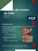 Análisis de Modos de Falla . Modificado