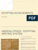 ancient egypt achievements flipped notes