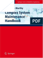 BOOK - Khairy a. H. Kobbacy PhD, D. N. Prabhakar Murthy PhD Auth. Complex System Maintenance Handbook - Reliability Engineering - Springer