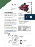 WLD3343 Laser Diode Driver Evaluation Board