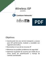 Presentacion Cambium Mikrotik MPLS OSPF PPPoE